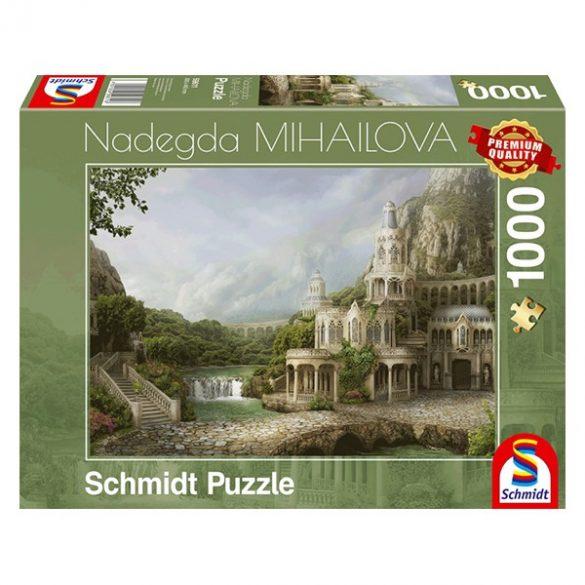 Puzzle 1000 db-os - Mountain palace - Nadegda Mihailova - Schmidt 59611