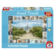 Puzzle 1000 db-os - Seashore Collectibles - Assaf Frank - Schmidt 59631