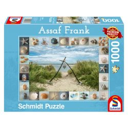 Puzzle 1000 db-os - Seashore Collectibles - Assaf Frank - Schmidt 59631