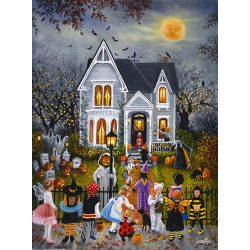 Sunsout 1000 db-os puzzle - Susan Rios - Scary Night 45430