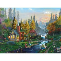 Sunsout 1000 db-os puzzle - Weekend Getaway 60429