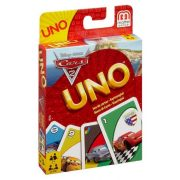 Verdák 2 Uno kártya Mattel - Cars Uno