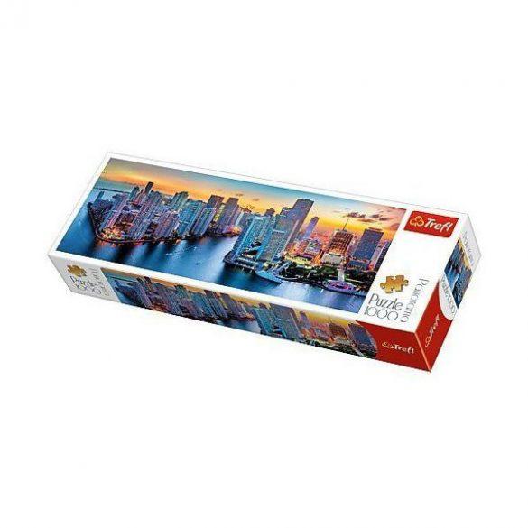 Trefl Miami naplementében 1000 db-os panoráma puzzle (29027)