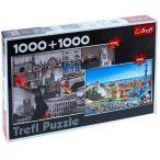 Trefl Spanyolország és Barcelona, 2x1000 db-os puzzle (29126)