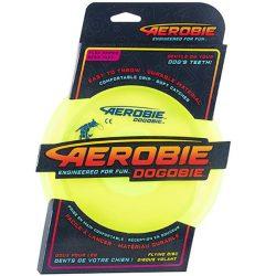 Aerobie Dogobie kutya frizbi - neon sárga