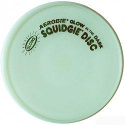 Aerobie Squidgie Disc frizbi - foszforeszkáló