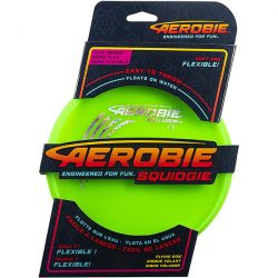 Aerobie Squidgie Disc frizbi – zöld