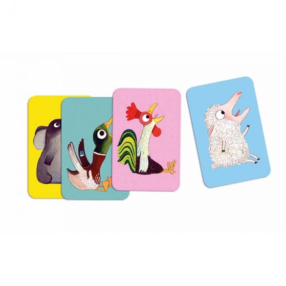 Batameuh - hangutánzós kártyajáték - Djeco