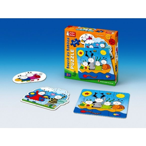 Bogyó és Babóca 3 puzzle játék kicsiknek