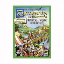 Carcassonne 8. kiegészítő - Várak, hidak, vásárok társasjáték