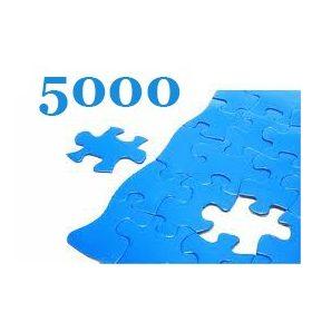 5000 darabos