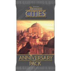 7 Wonders Cities Anniversary Pack - angol nyelvű