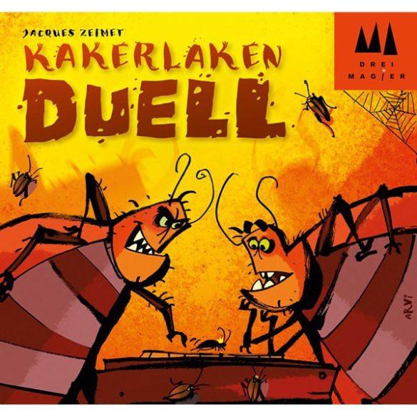 Csótánypárbaj társasjáték - Kakerlaken Duell