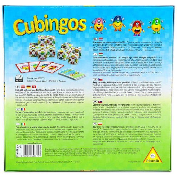 Cubingos társasjáték Piatnik
