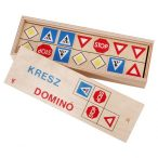 Fa dominó KRESZ (0145)