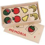Fa memóriajáték gyümölcsös (0141)