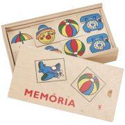 Fa memóriajáték vegyes (0139)