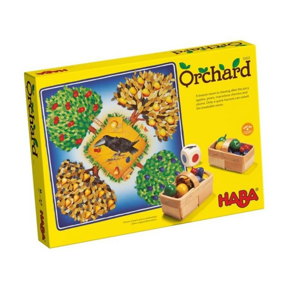 Gyümölcsöskert társasjáték - Orchard Haba