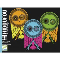 Hiboufou taktikai kártyajáték - Djeco