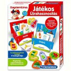 Sapientino Játékos Újrahasznosítás oktató játék (644230) - Clementoni