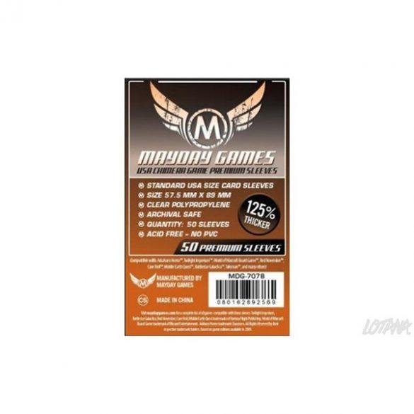 Mayday kártyavédő US Chimera 57,5 x 89 mm - 50 db