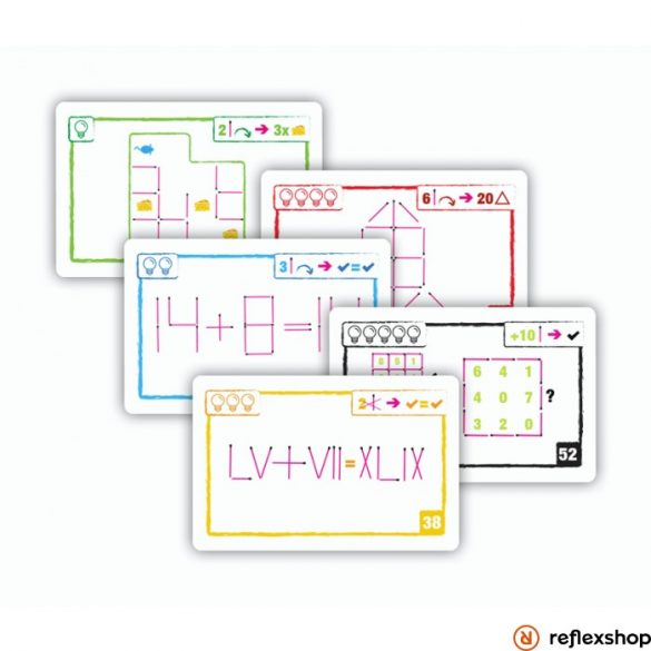 Brain Games Logic Cards logikai kártyajáték - lila