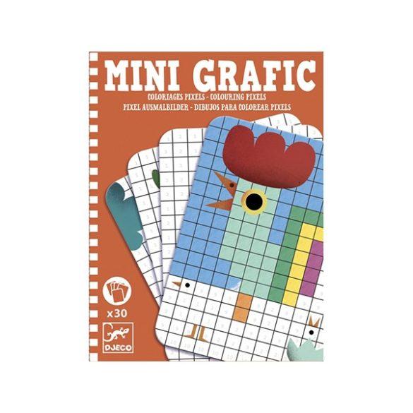 Mini Grafic Pixel Színező - Djeco