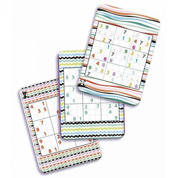 Mini Logika Sudoku úti társasjáték - Djeco
