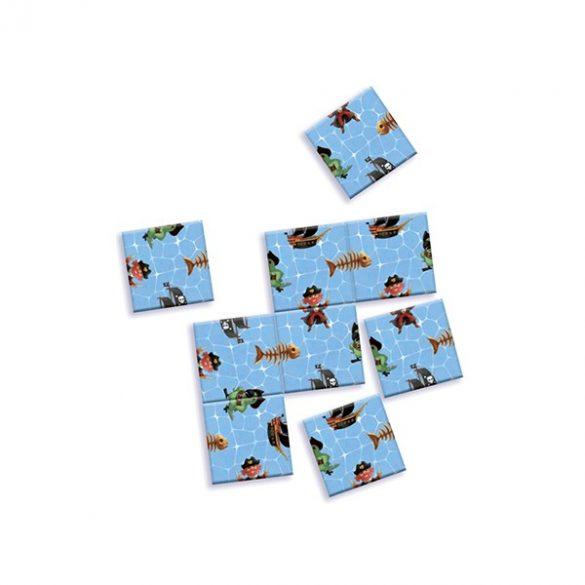 Mini logika - Lehetetlen - Impossible pirates puzzle - Djeco