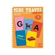 Mini Travel Betű-kép - Katuvu - Djeco