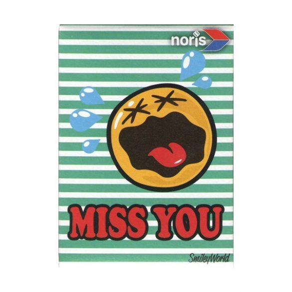 Smiley World Miss You 54 darabos mini puzzle - Noris