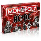 Monopoly AC/DC társasjáték - gyűjtői kiadás - angol nyelvű