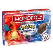 Monopoly Pokémon: Kanto Edition társasjáték - angol nyelvű