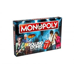 Monopoly The Rolling Stones társasjáték - gyűjtői kiadás - magyar leírással