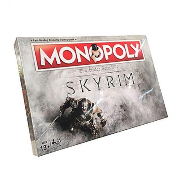Monopoly Skyrim társasjáték - angol nyelvű