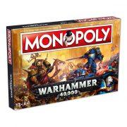 Monopoly Warhammer 40,000 társasjáték - angol nyelvű