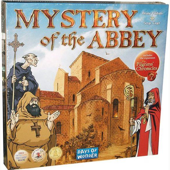 Mystery of the Abbey - Rejtély az apátságban társasjáték