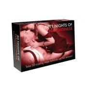 Fifty Nights of Naughtiness társasjáték - angol nyelvű