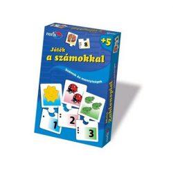 Játék a számokkal társasjáték - Noris