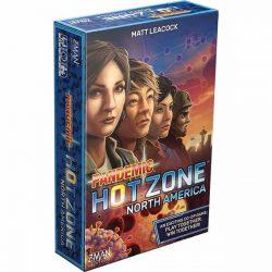 Pandemic: Hot Zone - North America társasjáték - angol nyelvű