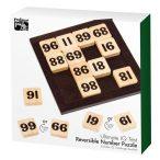 Reversible Number puzzle fa logikai játék Professor Puzzle
