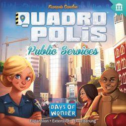 Quadropolis - Public Services társasjáték kiegészítő - Angol nyelvű