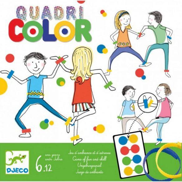 Quadricolor - Négyszín társasjáték - Djeco