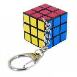 Rubik kocka 3x3x3 - kulcstartó