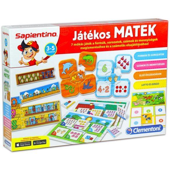 Sapientino Játékos Matek oktató játék - Clementoni (640430)