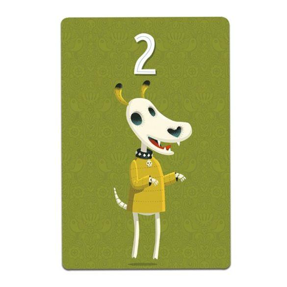 Squelettos stratégiai kártyajáték  - Djeco