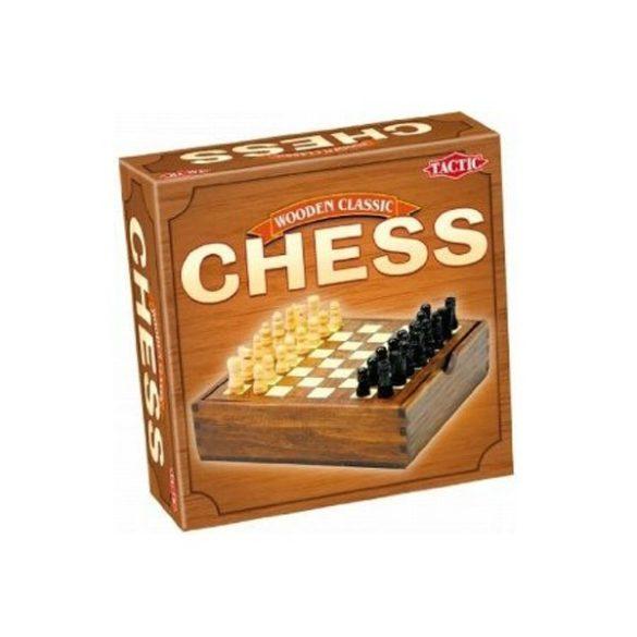 Tactic - Klasszikus Sakk fajáték fadobozban