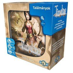 Timeline - Találmányok társasjáték - Asmodee
