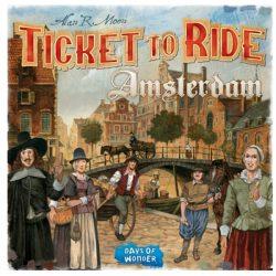 Ticket to Ride Amsterdam társasjáték - angol nyelvű