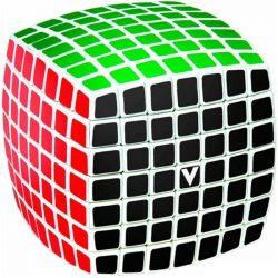 V-Cube 7x7 lekerekített versenykocka - fehér